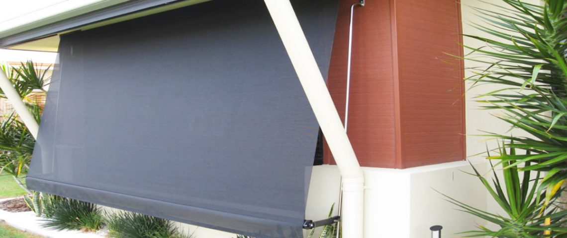 Auto Rollup Awnings 1 - Love Blinds & Awnings