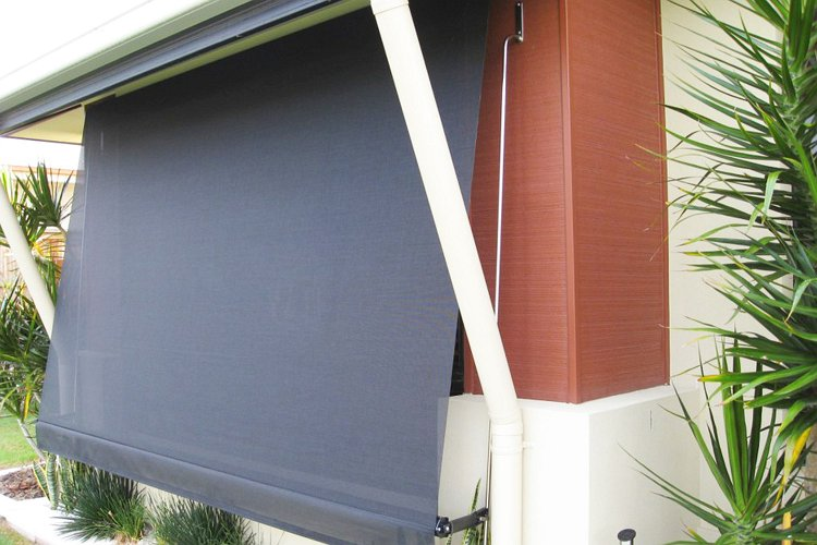 Auto Rollup Awnings - Love Blinds & Awnings