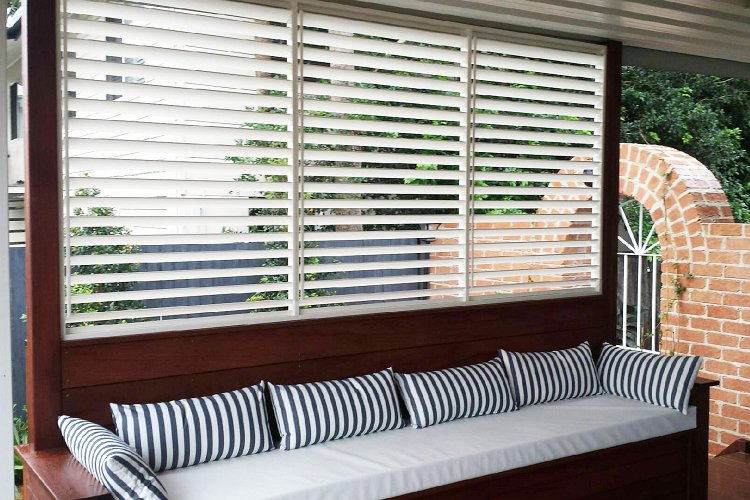 External Shutters - Love Blinds & Awnings
