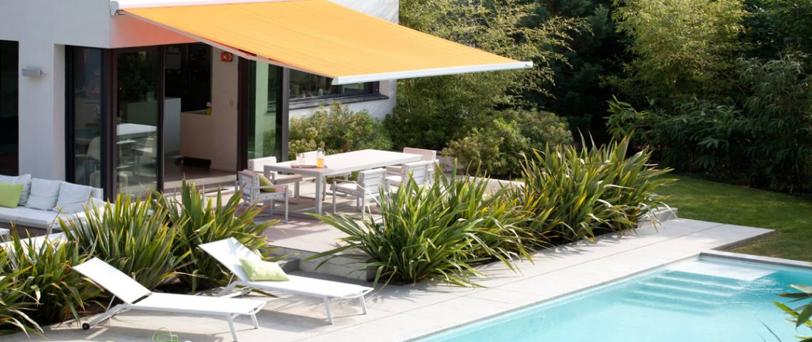 Motorised folding arm awning 3 - Love Blinds & Awnings