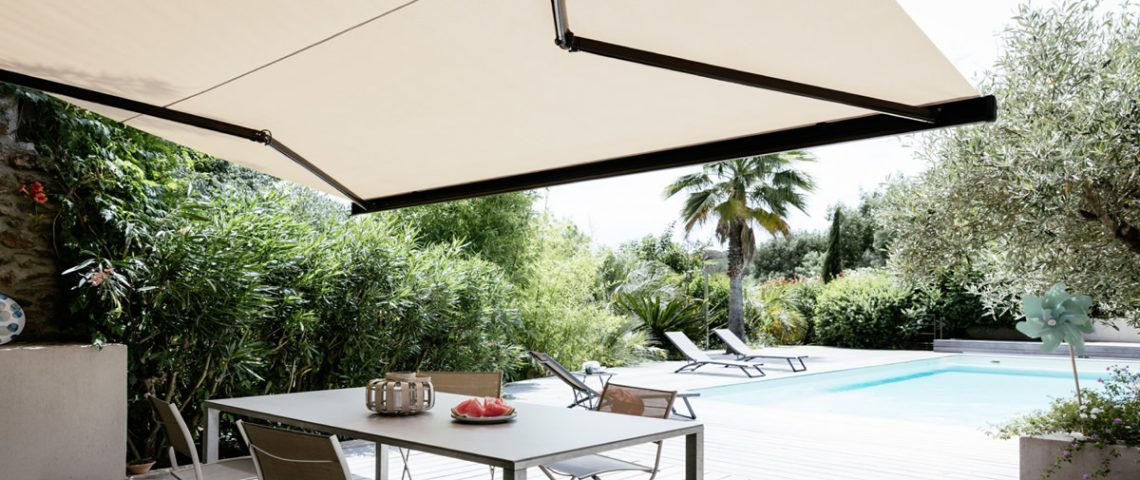 Motorised folding arm awning 4 - Love Blinds & Awnings