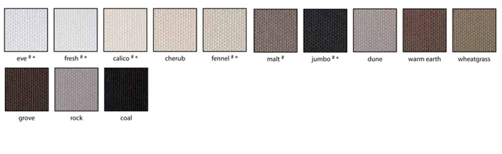 palm beach translucent swatches - Love Blinds & Awnings