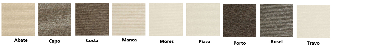 sassari translucent swatches - Love Blinds & Awnings